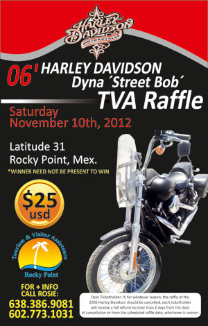 Bike Rally Rocky Point 2012 Poster